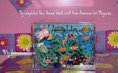 Doll Sized Aquarium