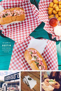 austin food truck guide / loveandlemons.com