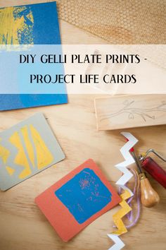 DIY gelli printing