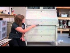 ▶ MMS Milk Paint Getting the Chippy Look - YouTube