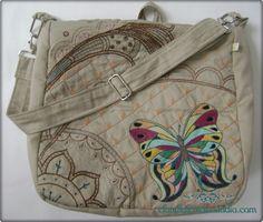 Bolsa de tecido  Bolsa Multiuso em sua versão carteiro