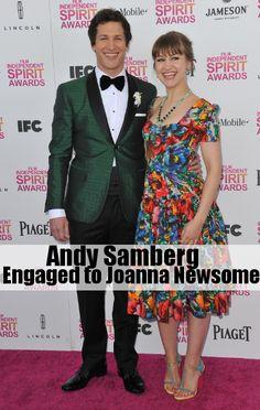 Andy Samberg and Fiancee'