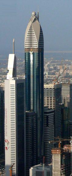 Rose Tower | Dubai #dubai #travel #places #popular