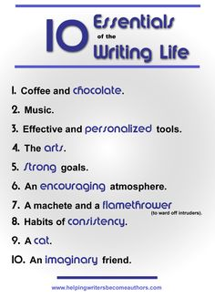 10 Essentials of the Writing Life
