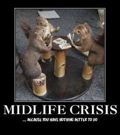 midlife crisis man