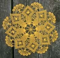 "Spider Web Doily - 13"" Link to pattern"