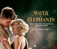 Water for elephants - just watched it .. Pretty good movie ... Reminds me of Moulin Rouge