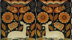 Wiener Werkstätte textile design.