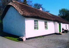 Ballydugan Weavers House, Ulster Folk and Transport Museum, Northern Ireland