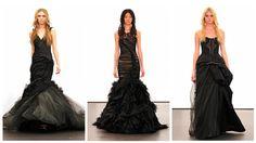 black weddings, victorian gown, black dress