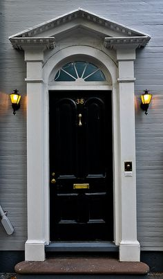 Charleston green on pinterest green doors black for Charleston green paint