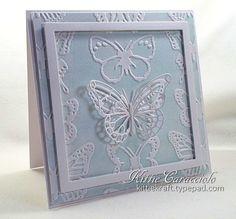 emboss card, lifestyl butterfli, butterfli emboss, inspir butterfli, butterfli set