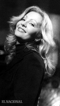 Doris Wells, actriz venezolana, nació en Caripito el 28 de octubre de 1948 y murió el 20 de septiembre de 1988. 12-06-1976. (Colección El Nacional)