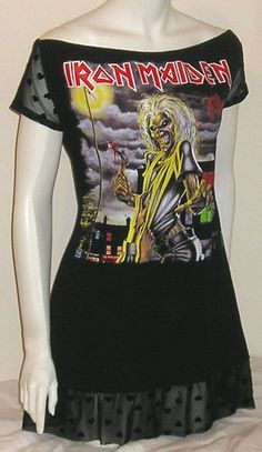 $49 iron maiden dress :O ! <3