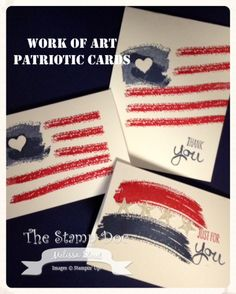 stampin up and work of art, stamp sets, work of art stampin up, stampin up work of art, stampin up patriotic cards, crafti thing, patriot card, stamping up work of art cards, work of art stamp set