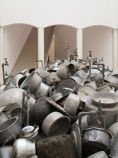 Subodh Gupta | This is not a fountain 2011-13
