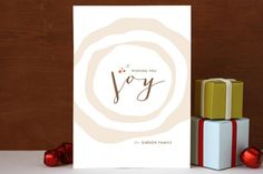 (Limited Supply) Click Image Above: Buche De Noel Holiday Non-photo Cards
