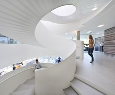 Sigmax, headquarters | Paul de Ruiter Architects; Interior architect: Ex Interiors; Photo: Pieter Kers, Daria Scagliola, Toon Grobet | Archinect