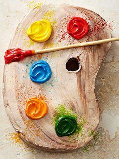 Artist's Palette Cake