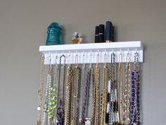 Necklace organizer - DIY or Etsy