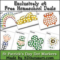 St. Patrick's Day Dot Markers