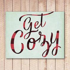 art printabl, cozi art, bedroom makeov, room decor, backgrounds, christmas, winter decor, typography, buffalo plaid