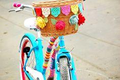 Greedy For Colour: A New Bike Basket.