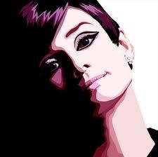 hepburn audrey, art inspir, audrey circa, gorgeous, audrey hepburn3, art paint, beauti, paintings, eleg audrey