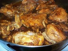 Chicken Adobo (Filipino Food)