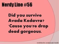 HP Pick Up Lines
