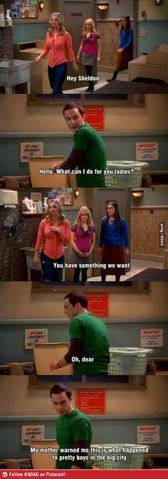 Haha I love The Big Bang Theory :)