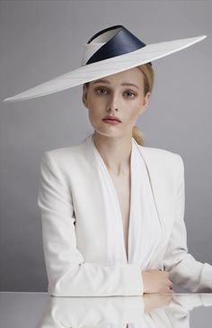 Sophie Beale Millinery - S/S 2015, New - Natural.