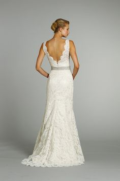 seriously drooling over this Jim Hjelm dress