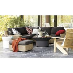 Newport Lounge Collection I Crate and Barrel