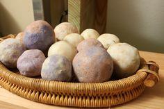 Natural soap balls