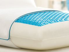 Cool Gel Pillow with Comfort that forms to you. I really want to try this!