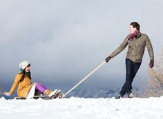 Most adorable winter couple shoot