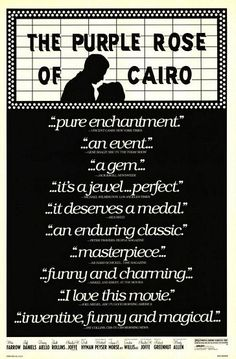 The Purple Rose of Cairo (1985)   *****