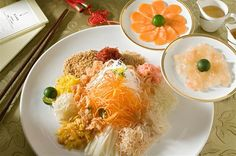 Prosperity Yu Sheng with Lobster and Salmon