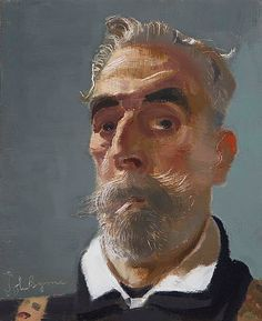 John Byrne. Self portrait.