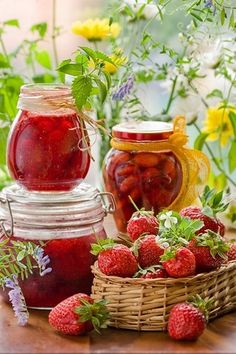 This summer I'm making jams & jellies to give next Valentine's Day.
