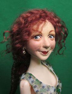 Rosie. Wildflower Dolls by Andrea Meyer.  Great artist. Love, love, love her work.