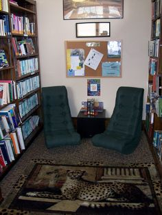 Roann Paw Paw Township Public Library Teen Room