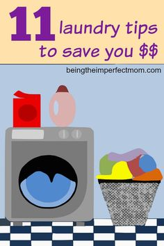 11 laundry tips that will save you money