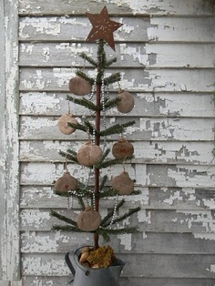 Christmas Trees ~ Colonial & Primitive Country Design