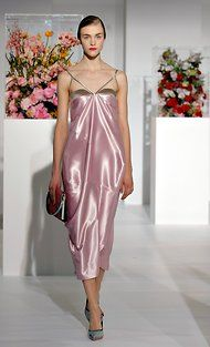 A gown by Raf Simons at the fall 2012 Jil Sander show in Milan.