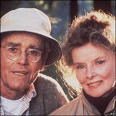 Henry Fonda & Katherine Hepburn - On Golden Pond. (1981) Both actors won Academy Awards for their roles as Norman Thayer, Jr. and Ethel Thayer.