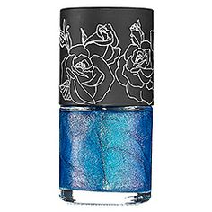 Kat Von D High Voltage Nail Lacquer in Mad Max-glittering bright sapphire #SephoraColorWash