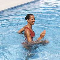 Total-Body Water Workout 6 great pool moves that fight fat