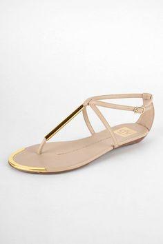 metal accent sandal